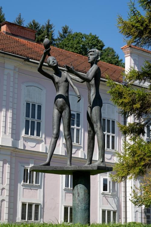 <p>  Spomenik pionirjev<br> </p> <p>  Foto: Luka Šparl </p>