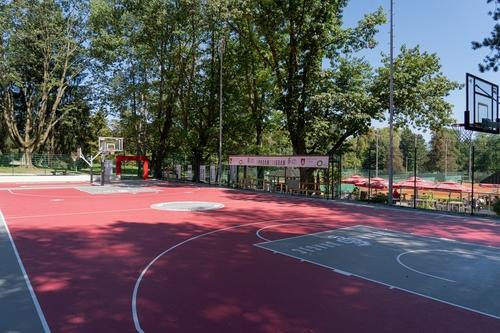 <p>  Pametno košarkaško igrišče; Foto Luka Šparl (Arhiv KP TRŠh) </p>
